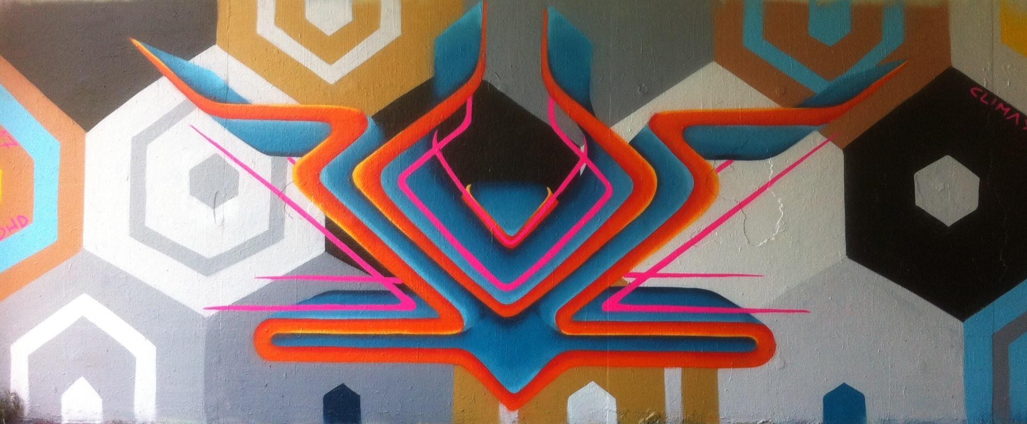 Kunstwerk gemaakt door Jeej getiteld ADHD Blue