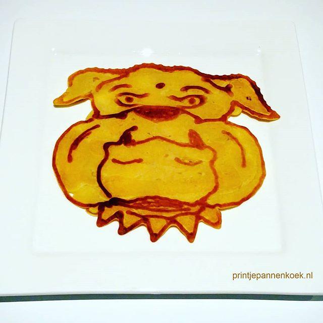 Kunstwerk gemaakt door Sander     getiteld Bulldog