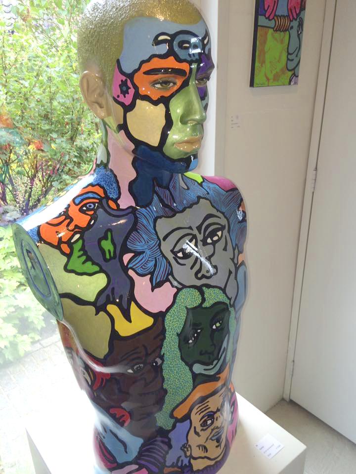 Kunstwerk gemaakt door Pieter getiteld Carlos
