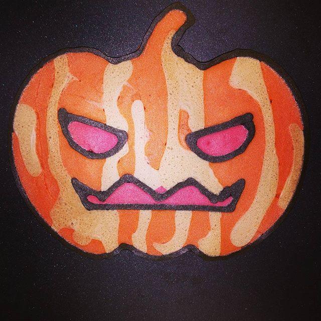 Kunstwerk gemaakt door Sander     getiteld Halloween pompoen