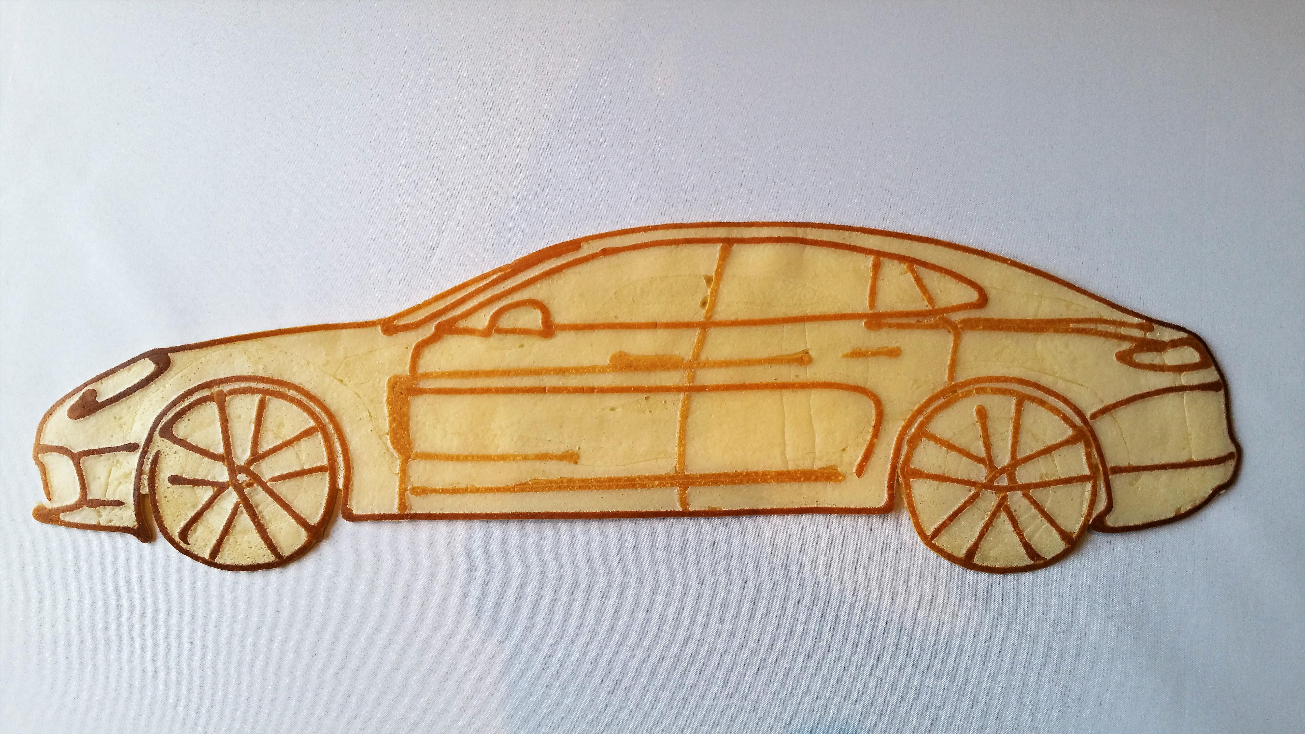 Kunstwerk gemaakt door Sander     getiteld Porsche Panamera