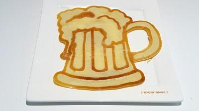 Kunstwerk gemaakt door Sander     getiteld Biertje