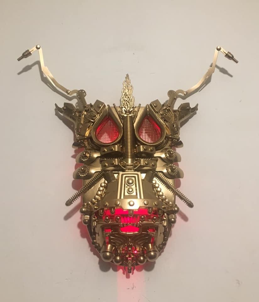 Kunstwerk gemaakt door Rhamsey getiteld Venice Invader Bug