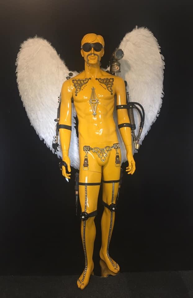 Kunstwerk gemaakt door Rhamsey getiteld Icarus Dreams