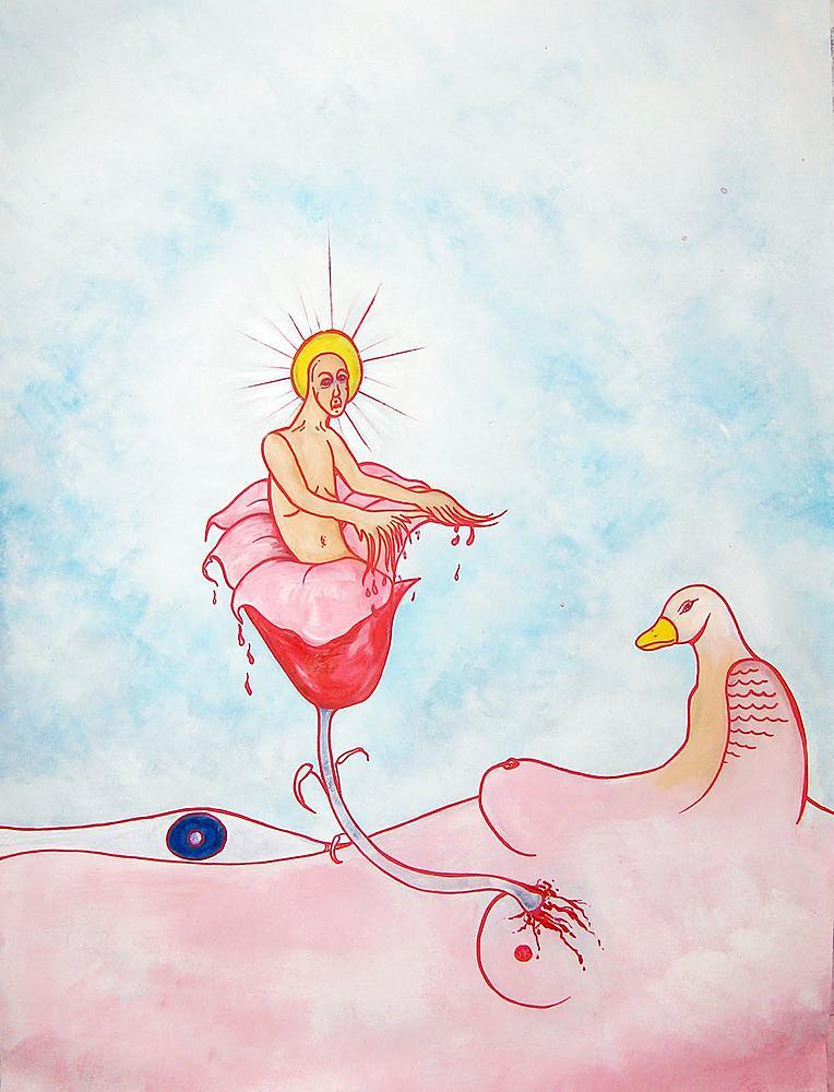Kunstwerk gemaakt door Jeroen getiteld Your Heart