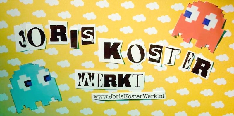 All rounder Joris creatief in 2D en 3D
