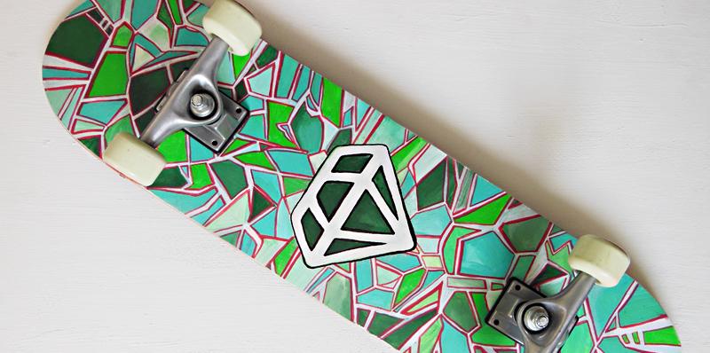 Beschilder je skateboard